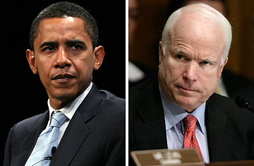 mccain obama Obama & McCain Compared Digitally 