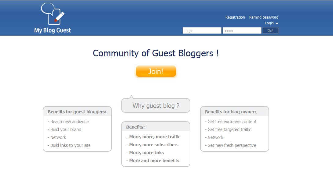 myblogguest MyGuestblog.com For Quality Link Building