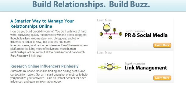 buzzstream link building BuzzStream Adds Some New Link Building Features
