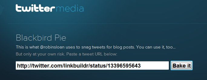 embed tweets Twitter Adds Embeddable Tweets