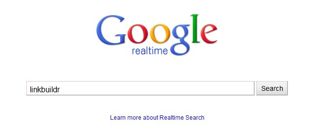 google realtime search Googles Realtime Search Results