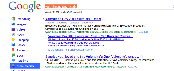 vday deals Valentines Day Marketing For Links & Branding