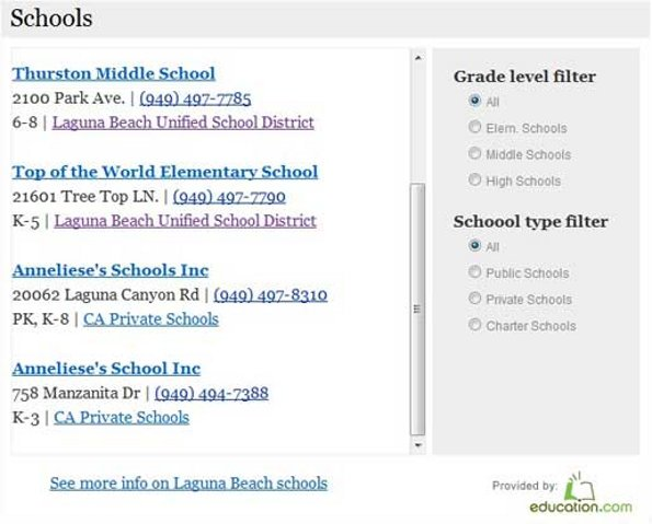 local market explorer schools Real Estate Plugins For Wordpress Roundup