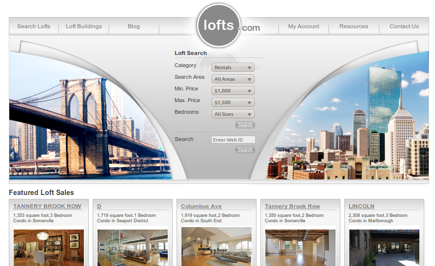 lofts.com  Lofts.com Launches: Niche Marketing Opportunity