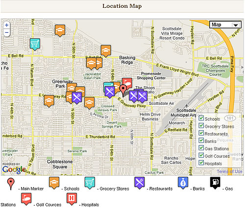 real estate pack map Real Estate Plugins For Wordpress Roundup