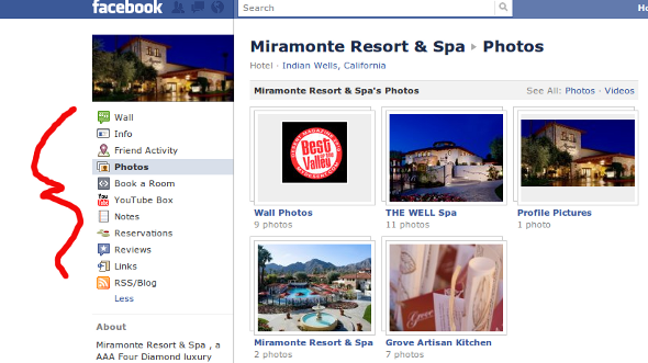 miramonte facebook Miramonte Resort Social Branding: Luxury Resorts Take Note 