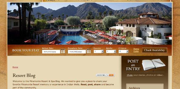 miramonte resort blog Miramonte Resort Social Branding: Luxury Resorts Take Note 