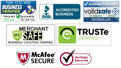 security seals Ecommerce Link Building Strategies & Tactics