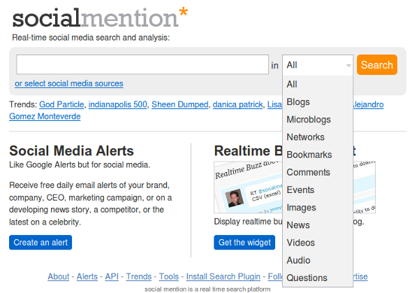 socialmention.com  Ecommerce Link Building Strategies & Tactics