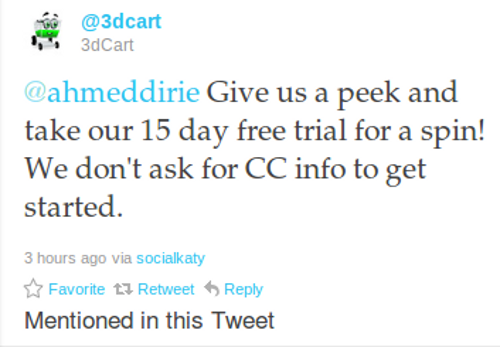 3dcart twitter Ecommerce Twitter Marketing Strategies In Action