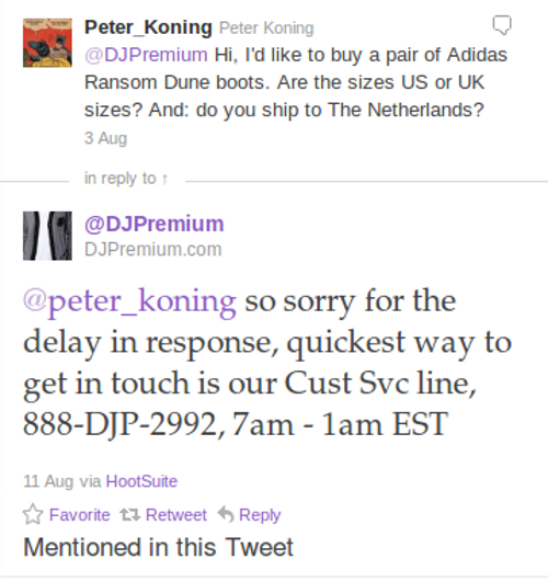 djmpremium twitter Ecommerce Twitter Marketing Strategies In Action