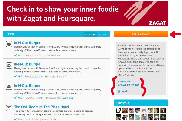 foursquare brand page Foursquare Brand Pages Are Here! Get Marketing