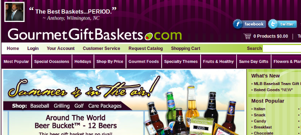 gourmetgiftbaskets.com  10 Big Brands That Google Has Penalized For Paid Links