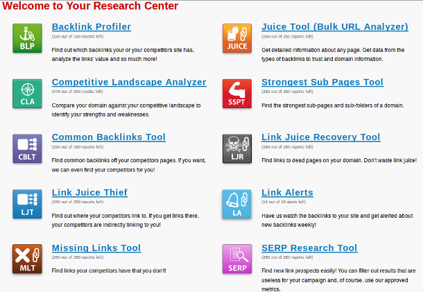 link research tools Link Research Tools Review Part 1: Backlink Analysis