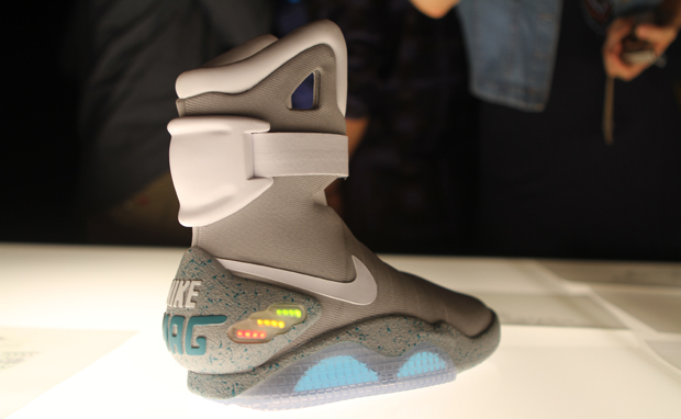 lead mag 1 Marty McFly's Nike sneakers have finally come Back From the Future