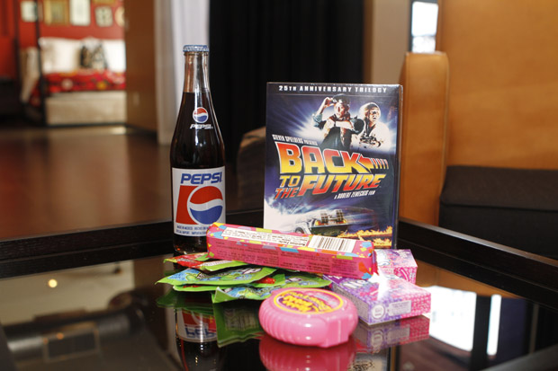 "80s candy, Throwback Pepsi and ""Back to The Future"" movies"