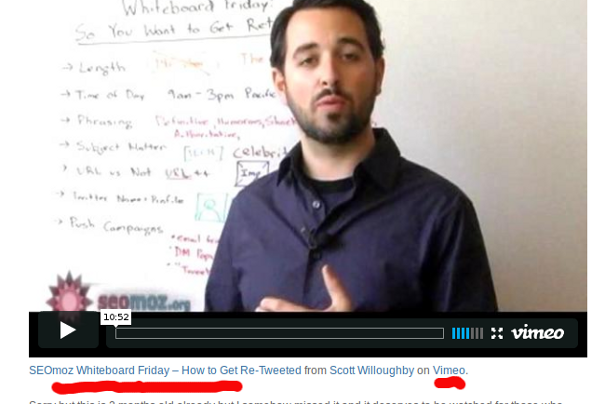 video embed example Link Building Beyond The Bullsh*t