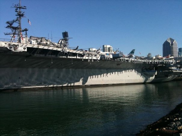 aircraft carrier san diego harbour My Trip To #SanDiego