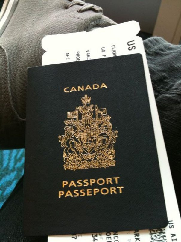 canadian passport My Trip To #SanDiego