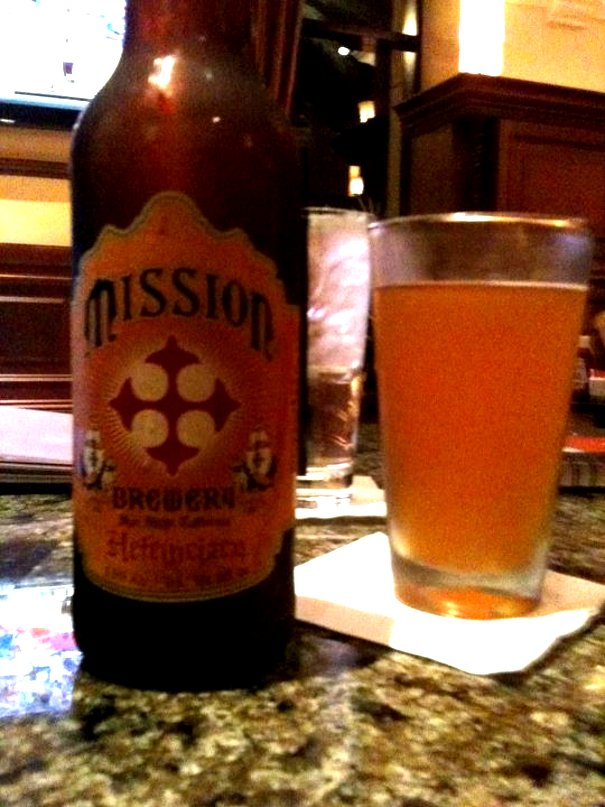 mission brewery heferweizen My Trip To #SanDiego