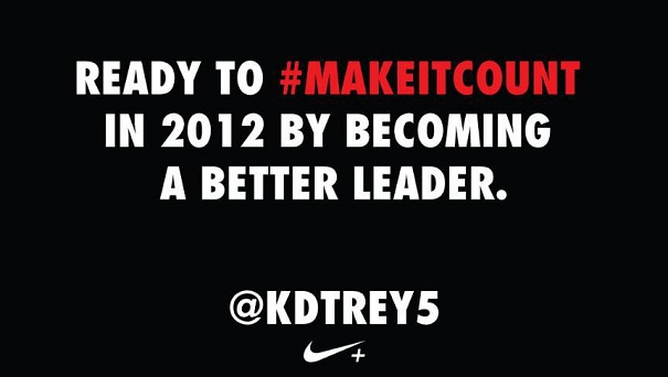 MakeItCount KDTREY5 Nike Continues Branding Dominance with #MakeItCount and @NikeFuel