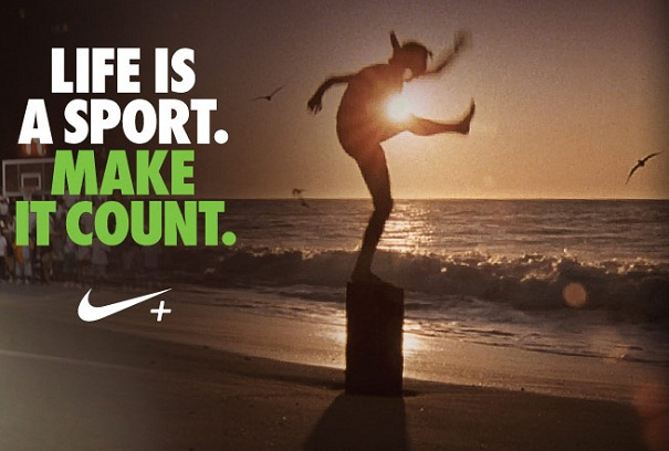 Nike Make It Count Poster