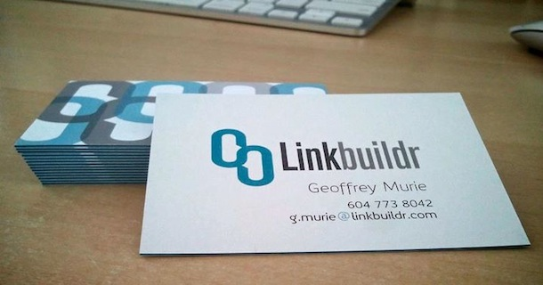 linkbuildr business cards New Business Cards Are In