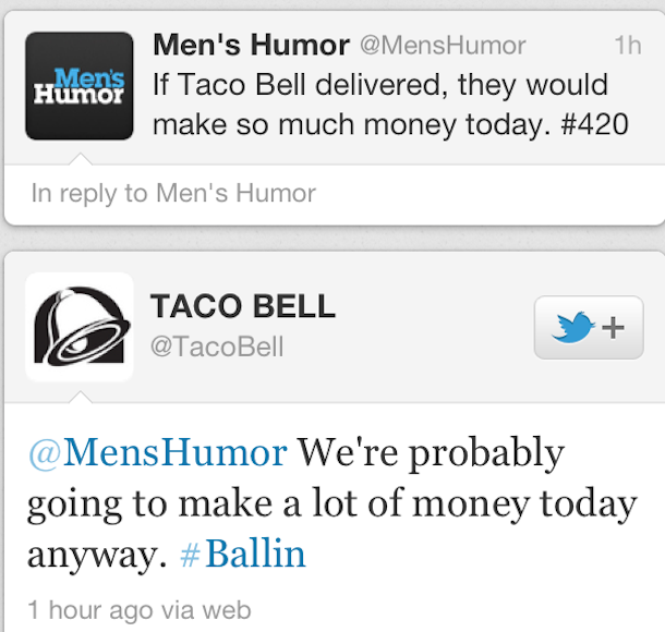 tacobell 420 Taco Bell Loves 420