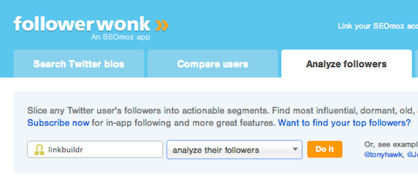 followerwonk analyze Building Social Media Profiles For Fun & Profit