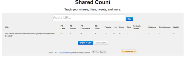 sharedcount linkbuildr Building Social Media Profiles For Fun & Profit