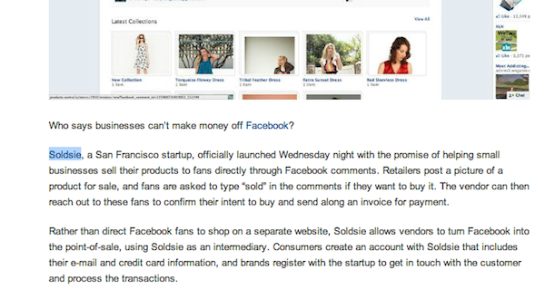 soldsie link mashable Stop Building Links And Start Attracting Them