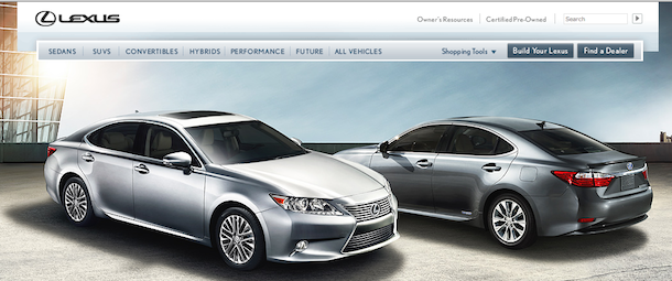 lexus homepage Stop Building Links And Start Attracting Them