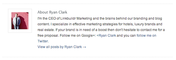linkbuildr author bio Linking For More Powerful Social Media Profiles