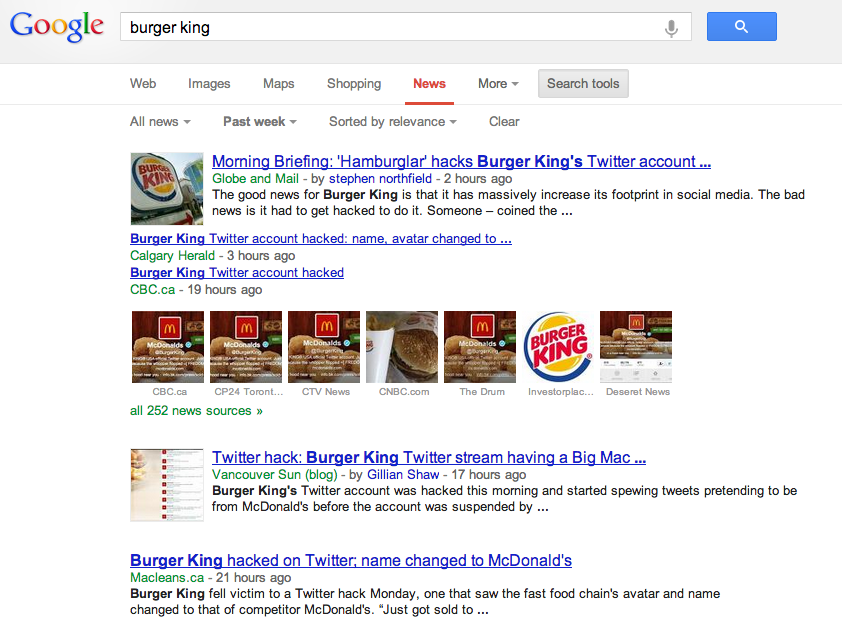 Screen Shot 2013 02 19 at 8.30.32 AM Burger Kings Twitter Hacked = Link Bait Goldmine